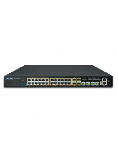 Layer 3 24-Port 10/100/1000T 802.3at...